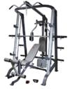 AsVIVA MS2 Power Multipresse II/Kraftstation - die Fitness-Station als Krafttrainer, Muskeltrainer, Bauchtrainer oder Hantelbank - das MultiGym, schwarz/grau -