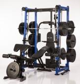 Extrem massive Multipresse MAXXUS BodyMaxx 9.1 mit Trainingsbank - Kraftstation - Bis zu 300kg Bankdrücken! 5 Jahre Garantie -