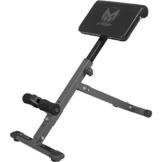 GYRONETICS E-Series Rückentrainer klappbar Hyperextension / Bauchtrainer mit gepolsterter Beinfixierung -